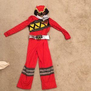Size 4/5 red power ranger costume